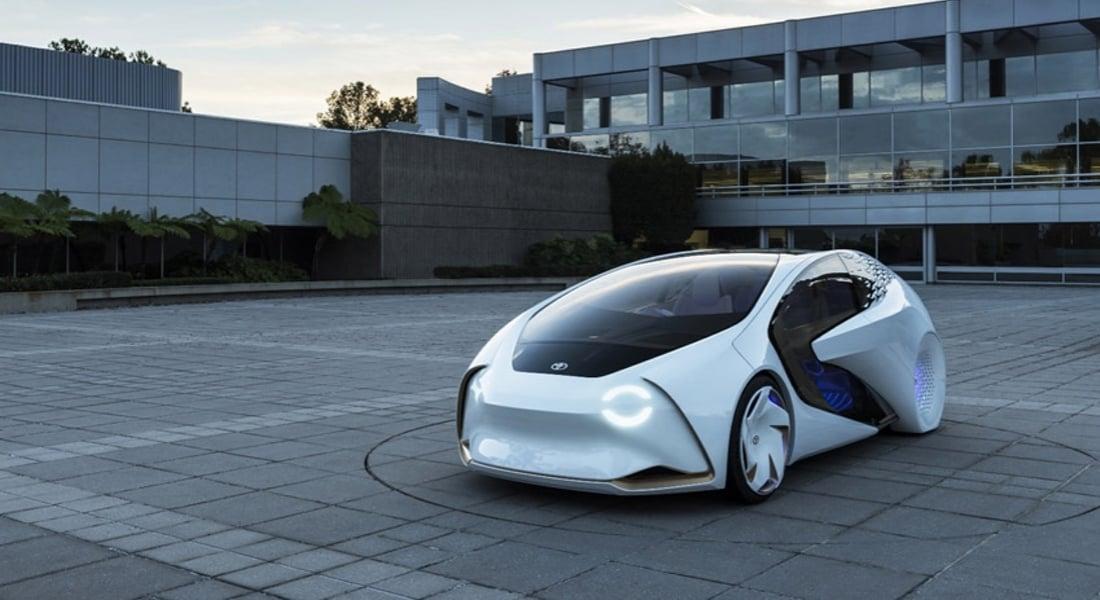 Toyota'dan Güler Yüzlü Konsept Otomobil