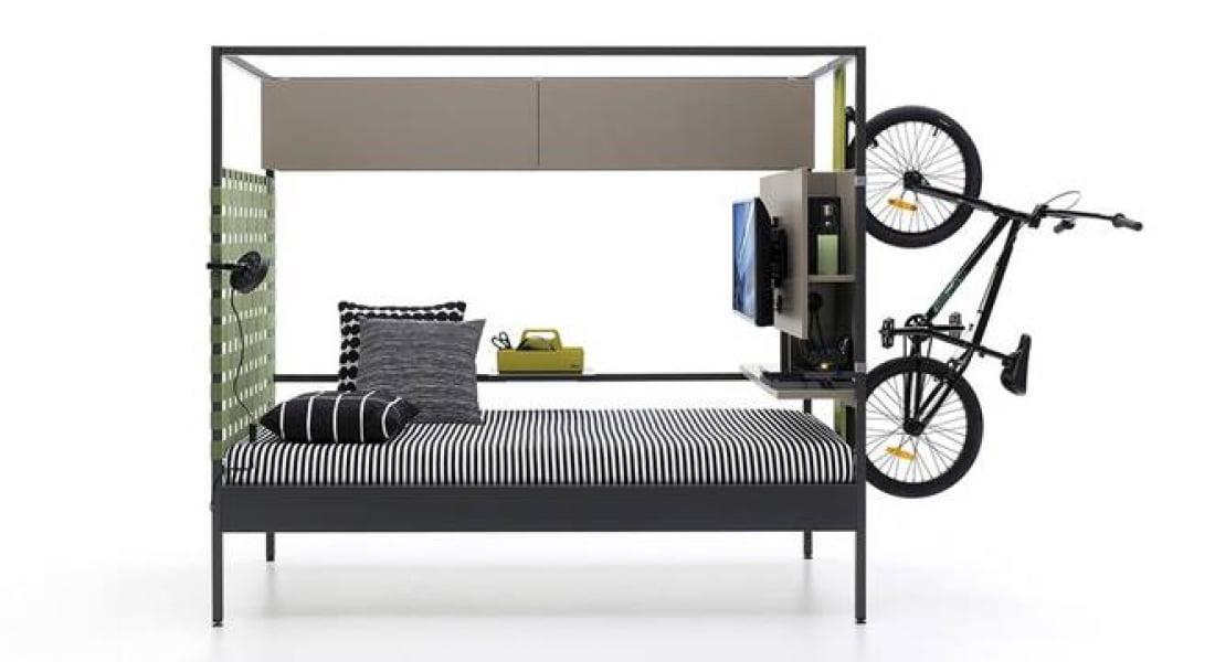 Çalışma Odasının Yerini Alabilen Yatak: Nook