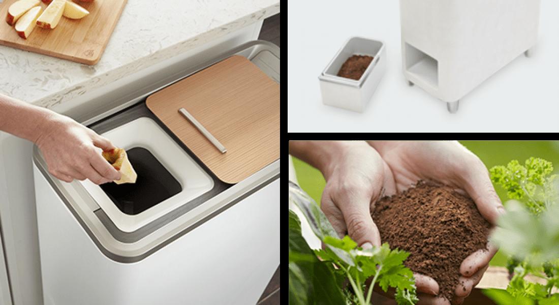 Zera Food Recycler, Gıda Atıklarını Ev Yapımı Gübreye Dönüştürüyor