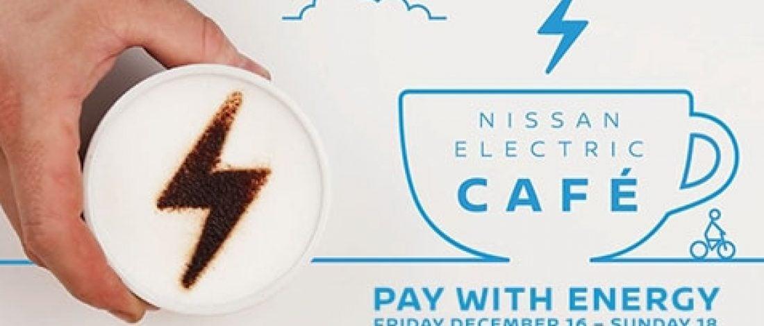 Nissan'dan Enerjiyle Ödeme Yapılan Kafe