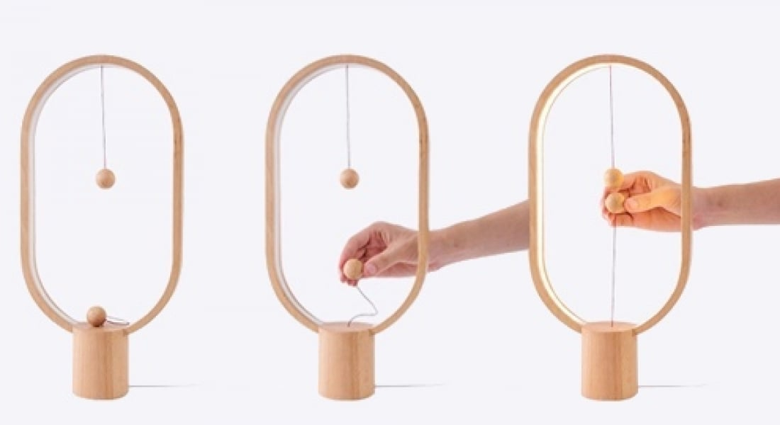 Lambaların Açma-Kapama Düğmelerinin Sıradanlığına Mıknatıslı Çözüm
