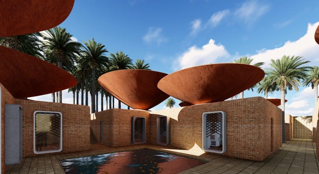 Yağmur Suyu Biriktiren İçbükey Çatılar
