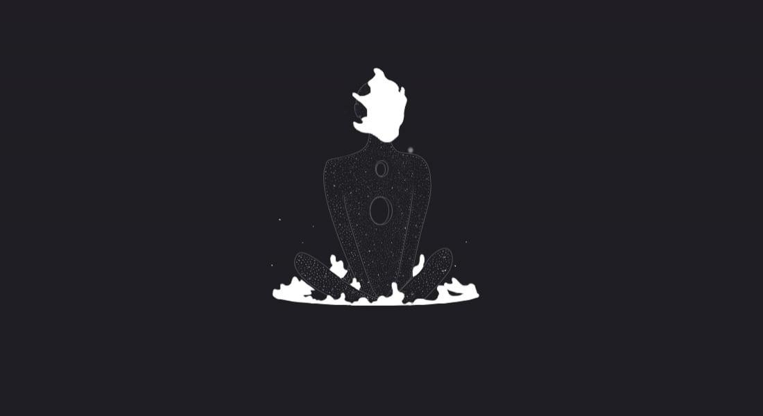 Siyah Beyaz Zıtlıklarında Hayat Bulan GIF'ler