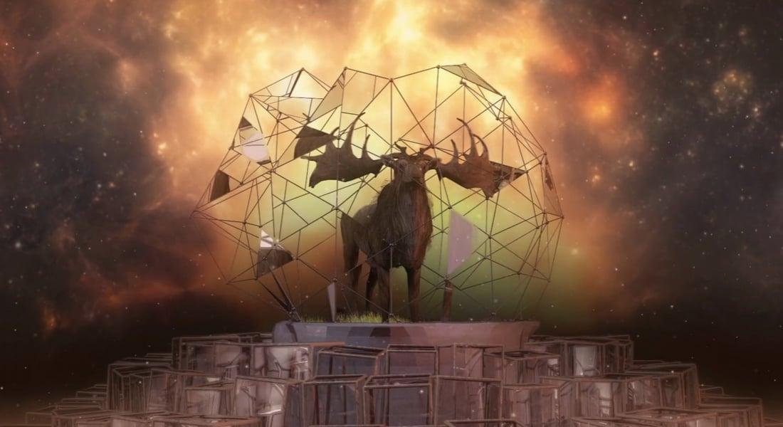 Turgut Uyar'ın Geyikli Gece'sine Adanmış Bir Animasyon