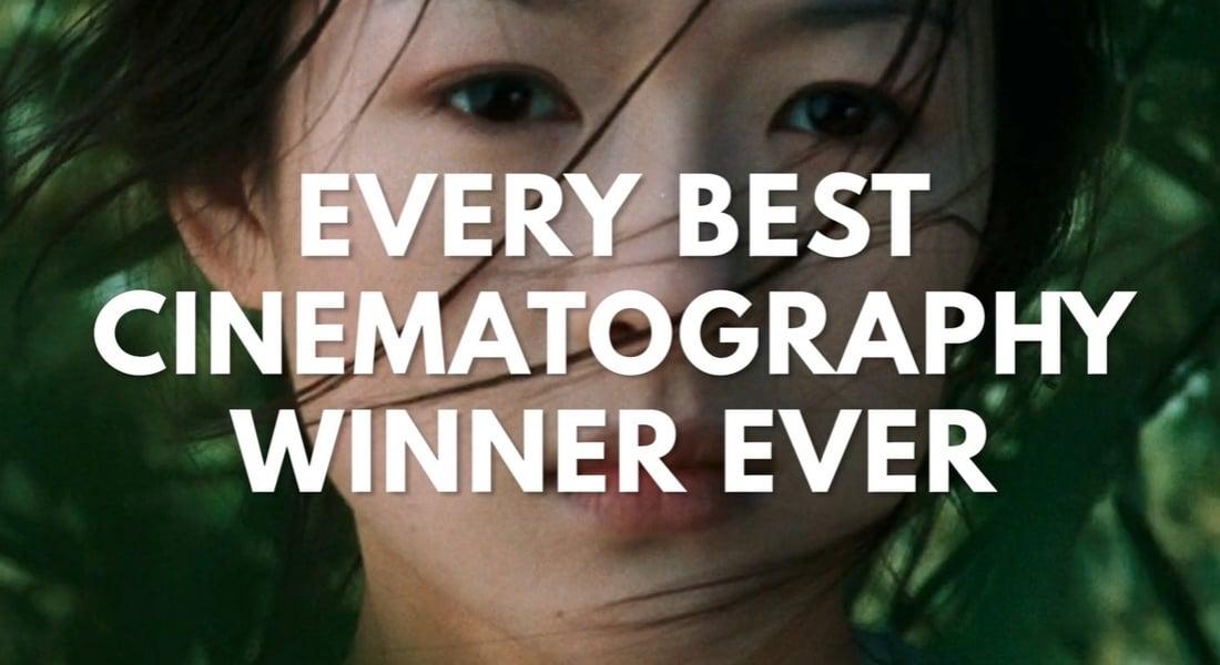 En İyi Sinematografi Oscar'ını Kazanmış Tüm Filmler Tek Videoda