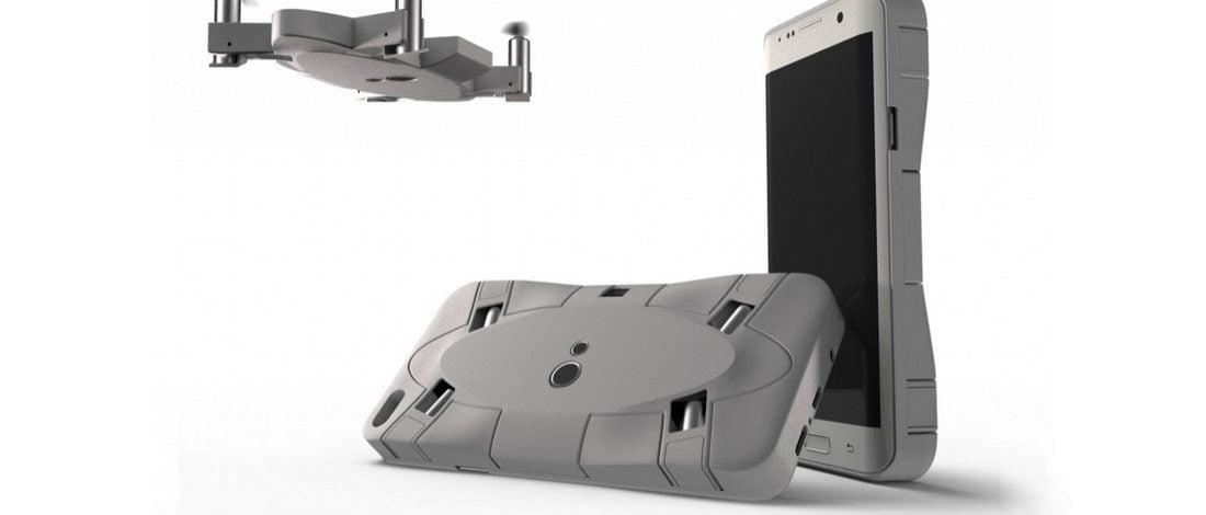 Telefon Kılıfına Gizlenen Drone