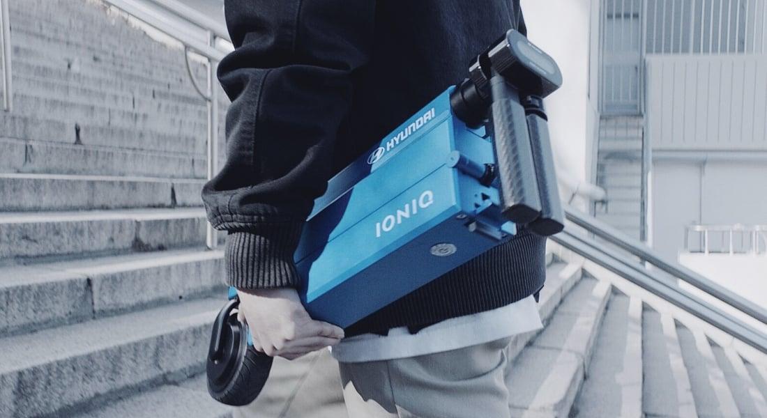Hyundai'den Elektrikli Katlanır IONIQ Scooter