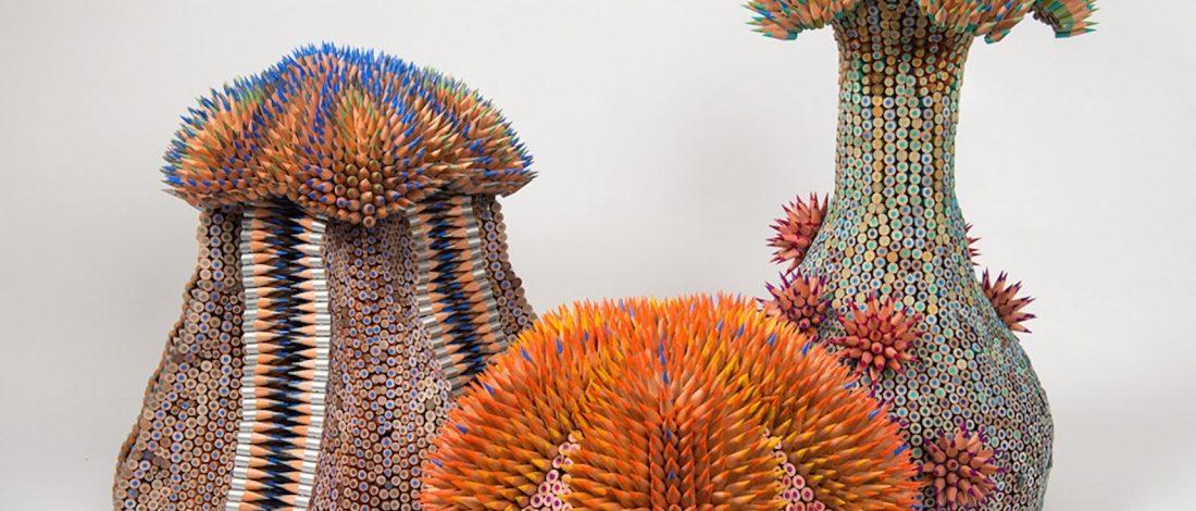 Boya Kalemleriyle Yaratılan Deniz Canlıları