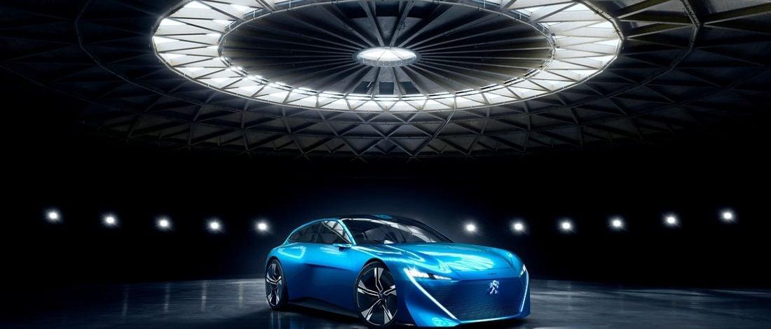 Peugeot'dan Heyecan Verici Bir Konsept: Instinct