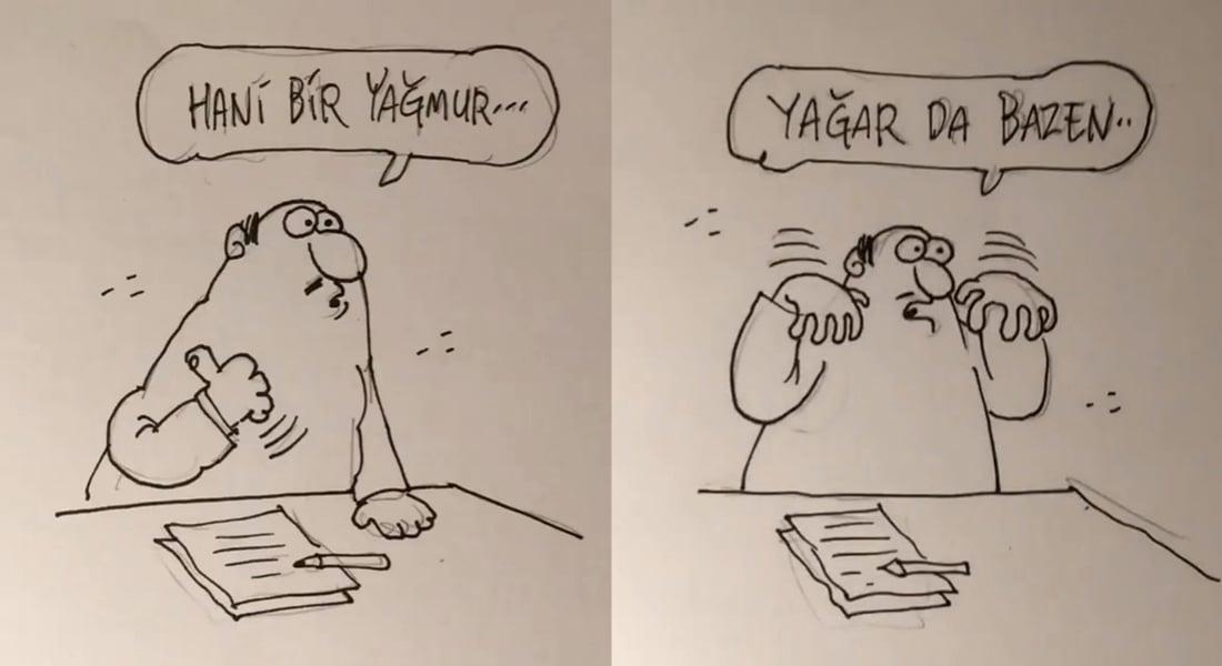 Emrah Ablak'tan Unutulmaz Türk Müziklerine Yaratıcı Karikatür Filmler