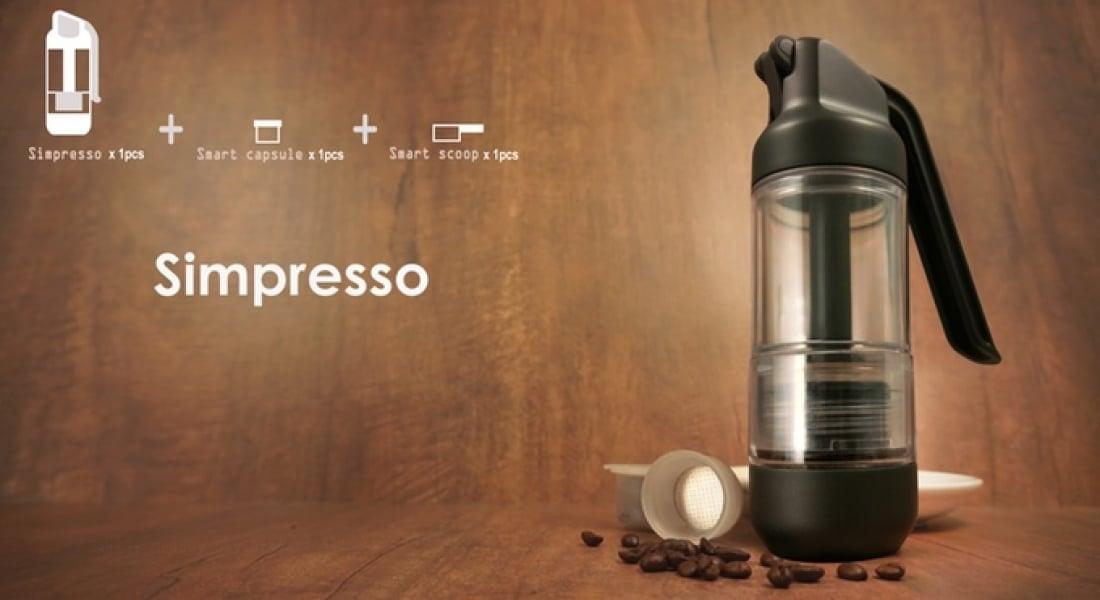 Taşınabilir Espresso Aleti: Simpresso