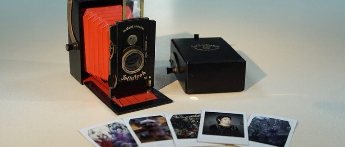 Kağıttan Yapma Şipşak Fotoğraf Makinesi
