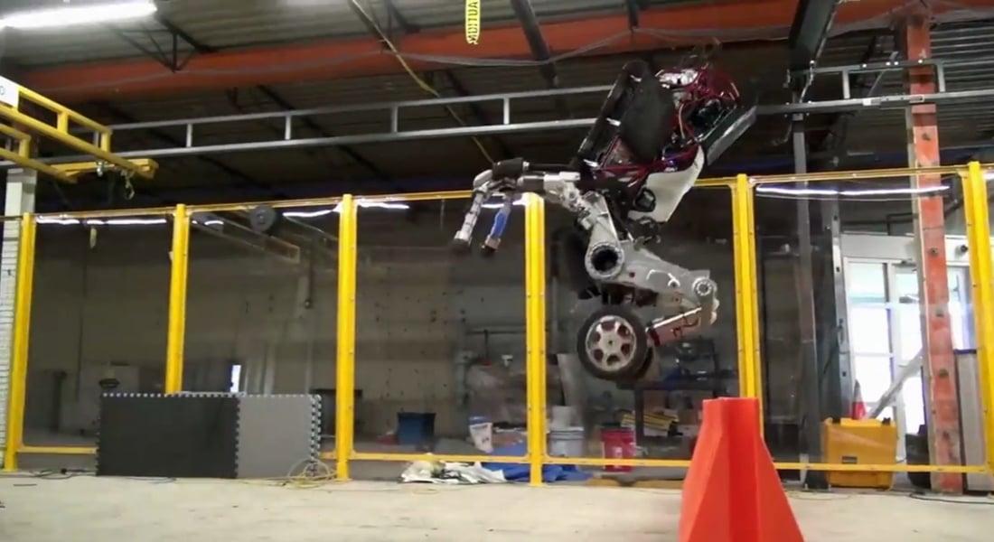Boston Dynamics'in Yeni Patenli Robotu Handle