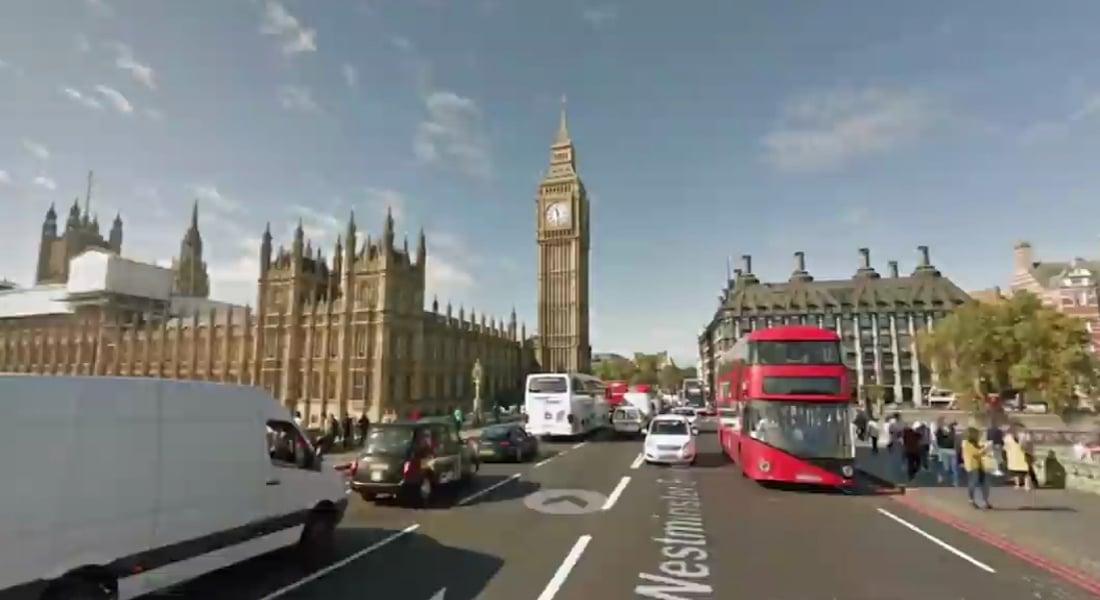 Google Haritalarından Alınmış Ekran Görüntüleriyle Hyperlapse Dünya Turu