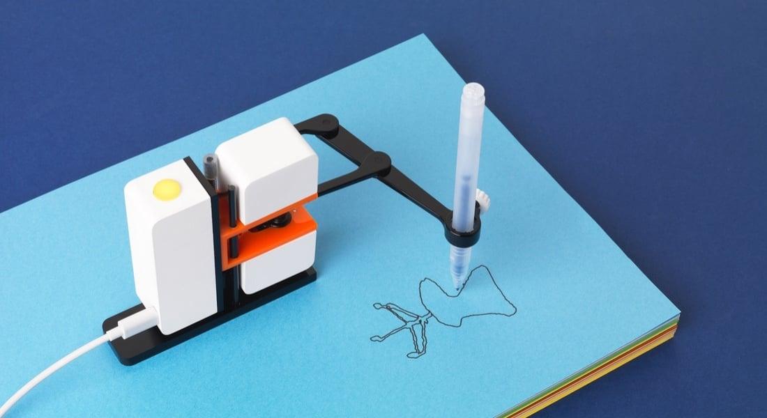 Dijital Çizimlerinizi Kağıda Taşıyan Robot Kol: Line-us
