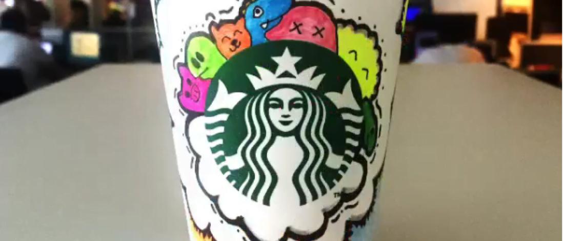 Sercan Yavaşoğlu'ndan Starbucks Doodle'ları