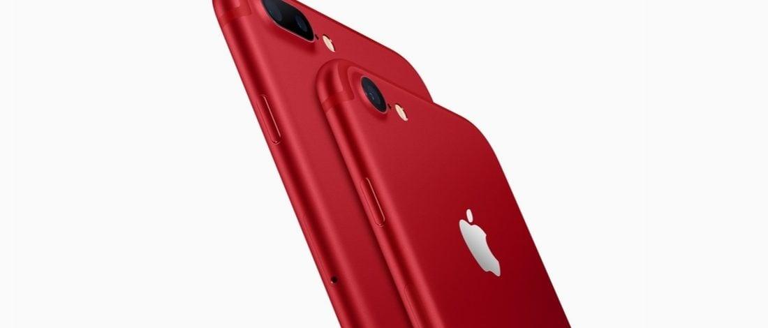 Apple'dan Kırmızı iPhone 7 ve 7 Plus