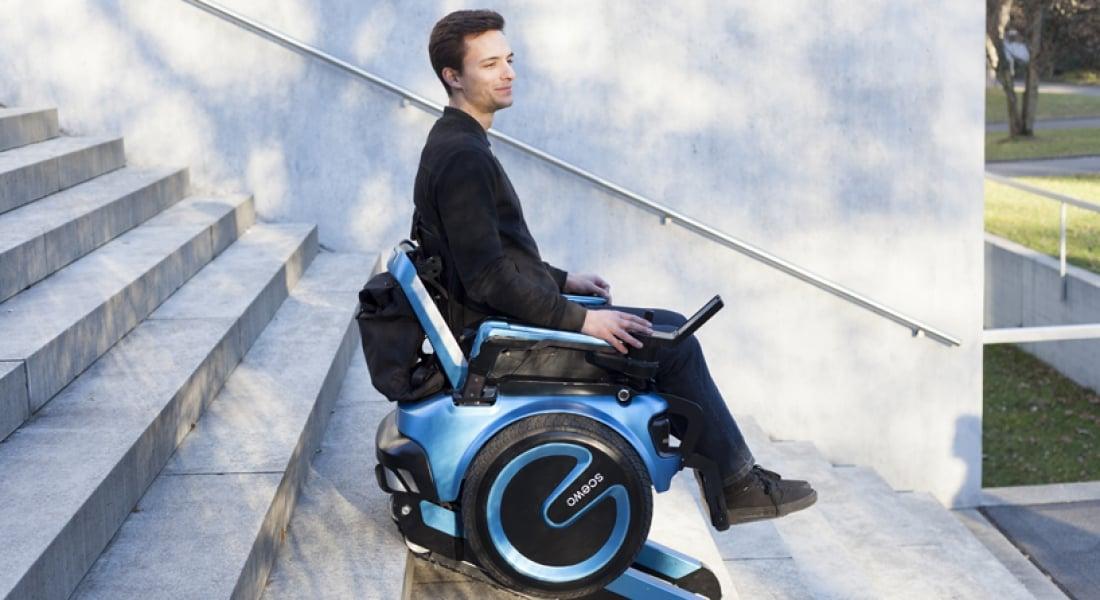 Kendi Kendine Merdiven İnip Çıkabilen Tekerlekli Sandalye