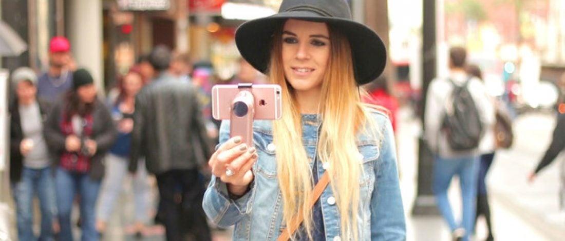 Sarsıntısız Selfie İçin Mini Dengeleyici
