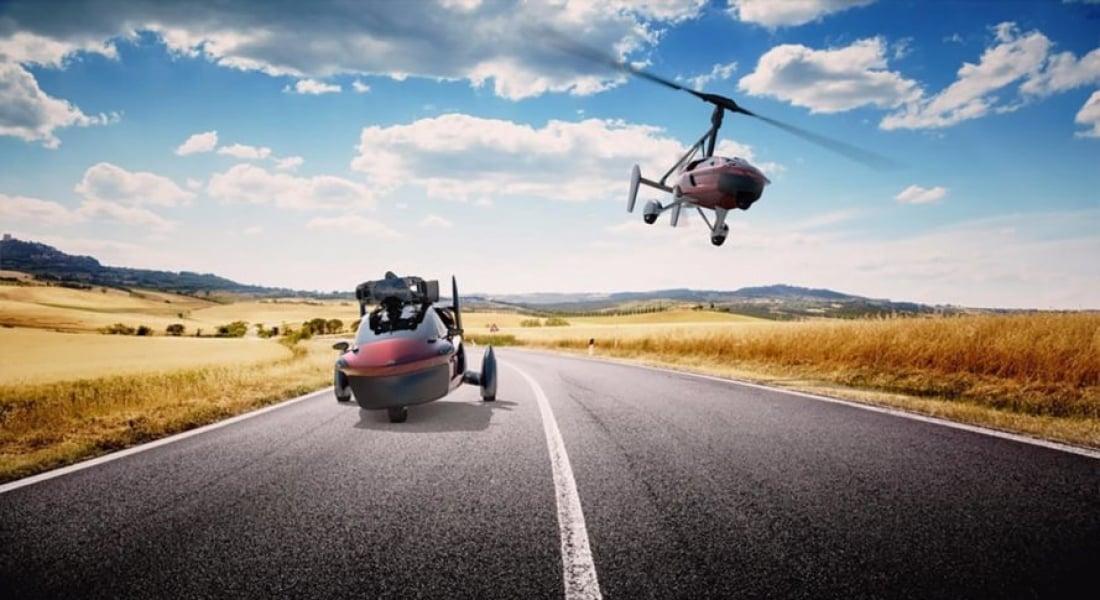 PAL-V, Havada ve Karada Gidebilen Otomobillerini Piyasaya Sürüyor