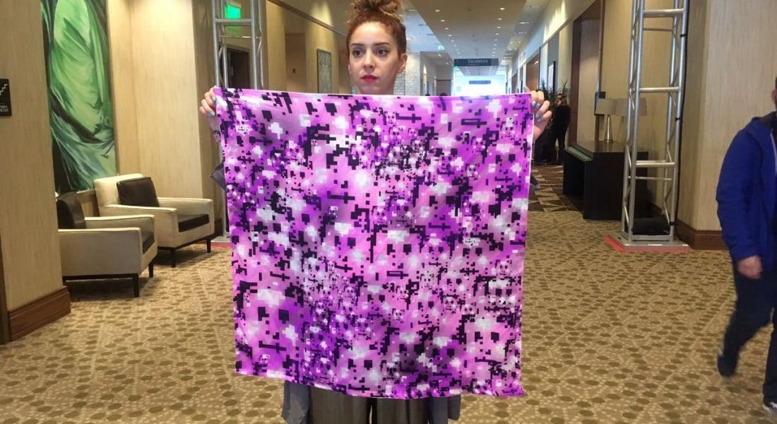 HyperFace Camouflage: Yüz Tanıma Sistemlerinin Aklını Karıştıran Eşarp [SXSW 2017]