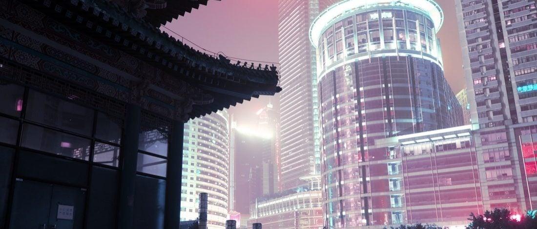 Çin'in Neon Sokaklarından Tekinsiz Gece Fotoğrafları