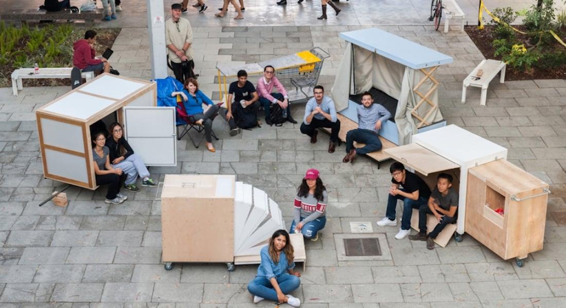 Öğrencilerden Bürokrasiyi Delerek Evsizliğe Acil Çözüm Getiren Tasarım