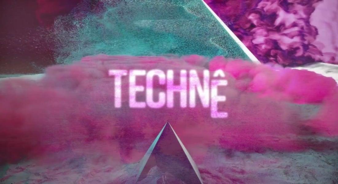 Tuvaldeki Eserleri Projeksiyon Yansıtmayla Canlandıran Sergi: Techne