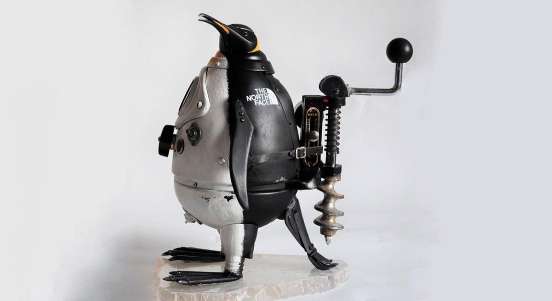 Atıklarla Yaratılan Steampunk Heykeller
