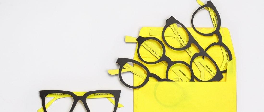 Denemeniz İçin Karton Gözlükler