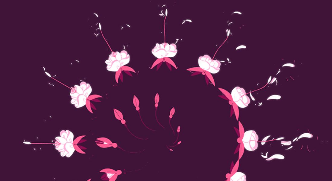 Çiçek Açan Hipnotize Edici GIF'ler