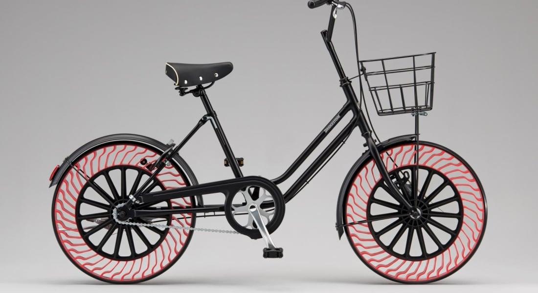 Bridgestone'dan Havasız Bisiklet Lastiği