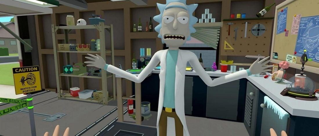 Rick and Morty'nin 20 Nisan'da Sanal Gerçeklik Oyunu Çıkıyor