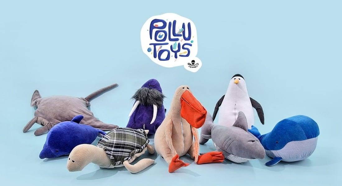 Deniz Kirliliğini Çocuklara Anlatan Peluş Oyuncaklar
