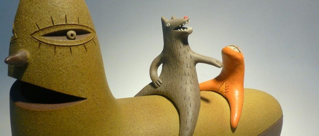 Simbiyotik Yaşama Gözünü Açan Seramik Karakterler
