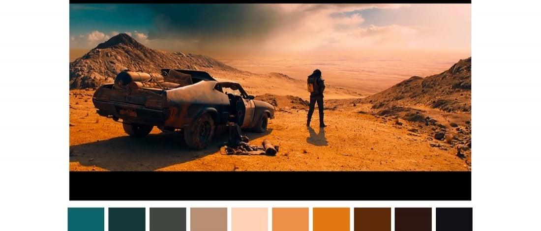Ünlü Film Sahnelerinin Renk Paletleri