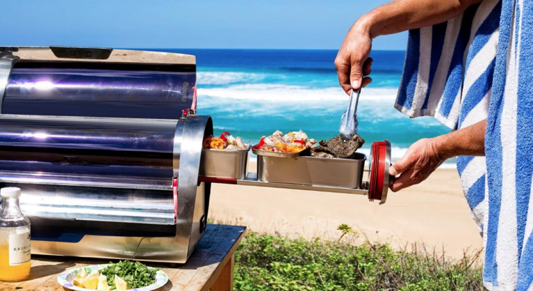 Güneş Işığını Lezzetli Yemeklere Dönüştüren Pişirici