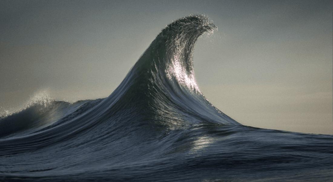 Okyanustaki Dev Dalgaların Sinemagrafları
