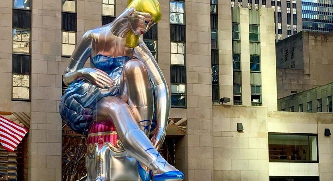 Jeff Koons'tan New York'un Kalbine Dev Yerleştirme