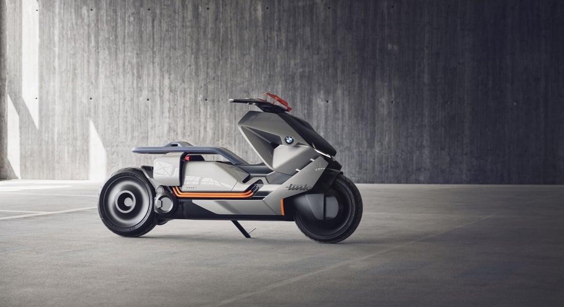 BMW'den Sıfır Emisyonlu Geleceğin Şehir Motosikleti