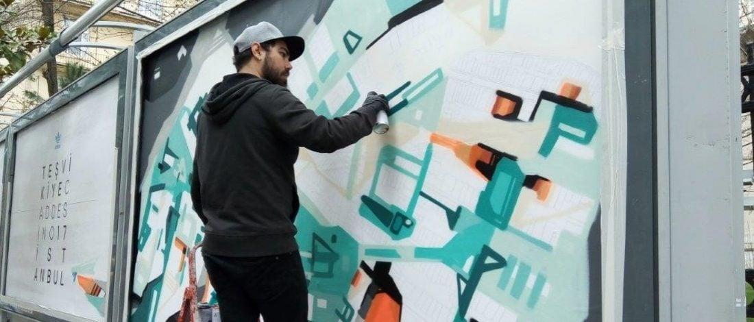 Cins ve Esk Reyn'in Adidas için Boyadığı Açıkhava Panolarına A Awards'tan 3 Ödül