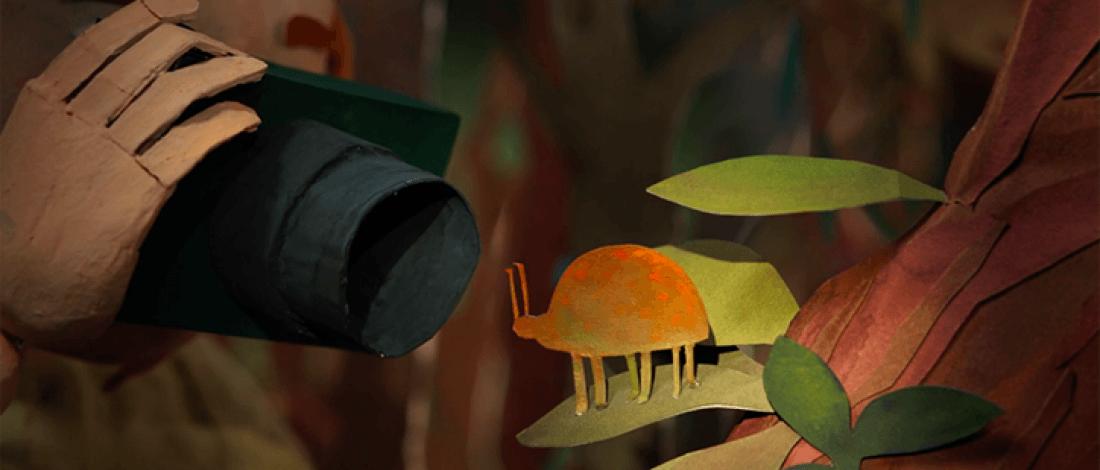 Kağıt Kuklaların Ormanda Yaşadığı Sihirli Anlar