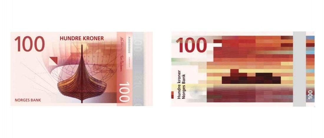 Norveç'in Pikselli Banknotları Dolaşıma Girdi