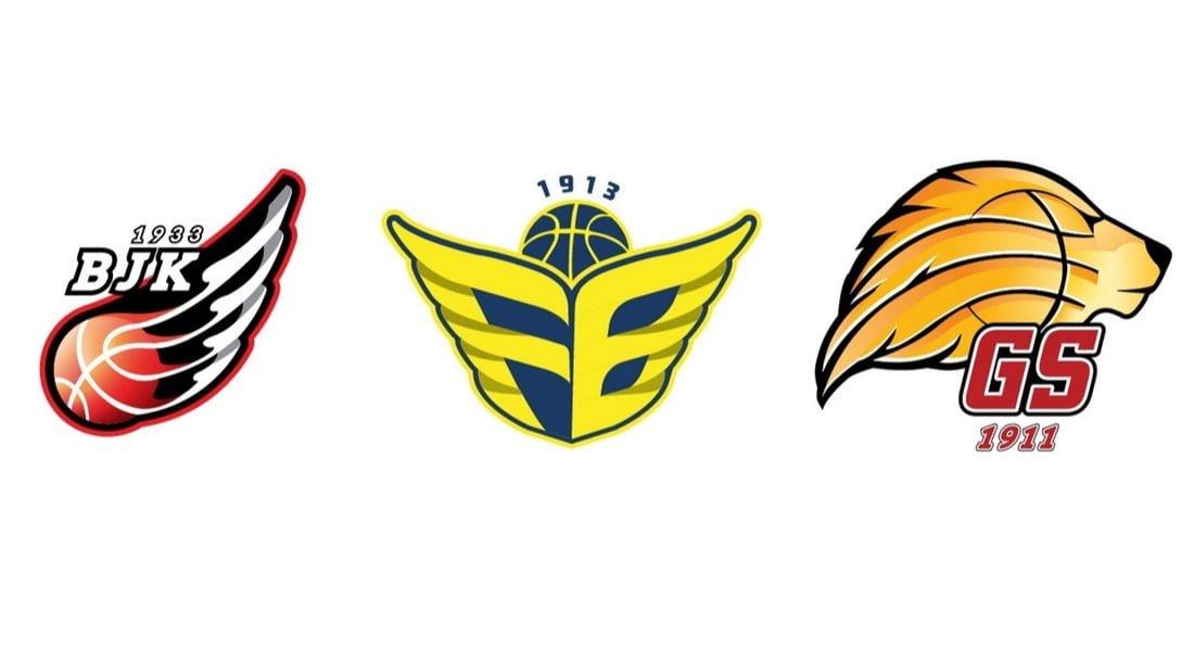 Türkiye Basketbol Ligi ve 3 Büyük Takıma Arma Tasarımı