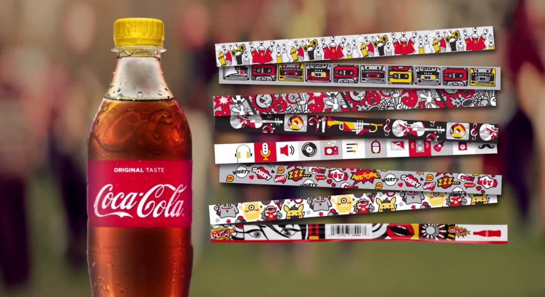 Festival Biletine Dönüşen Coca-Cola Bileklikleri