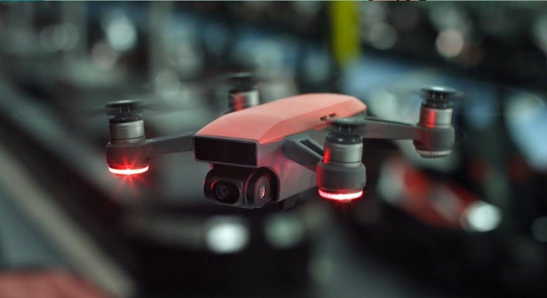 DJI'in Telefon Büyüklüğündeki Yeni Drone'u: Spark