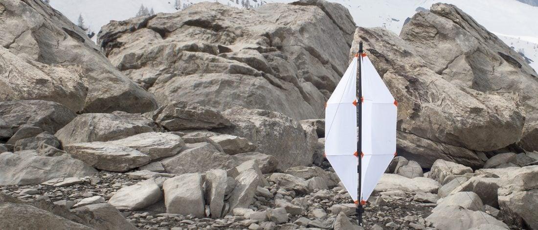 Katlanır Taşınabilir Mini Rüzgar Türbini