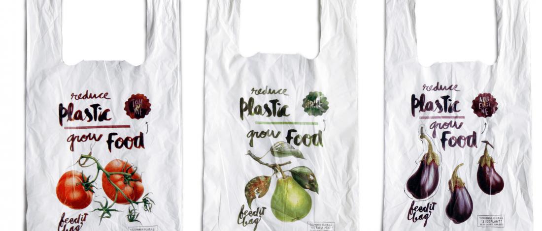 Plastik Torba Yerine Doğada Çözülebilen ve Bitki Yetiştiren Torbalar