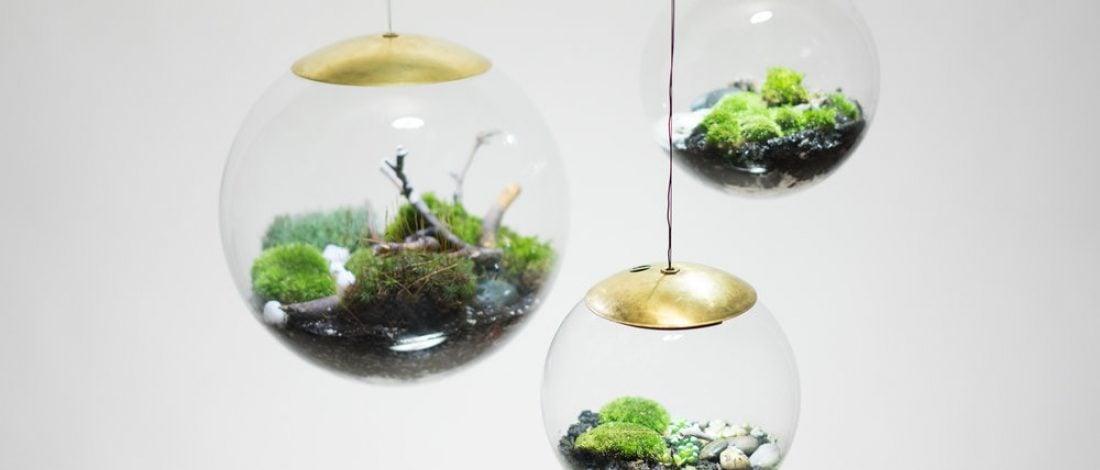 Hem Minyatür Bahçe Hem Aydınlatma
