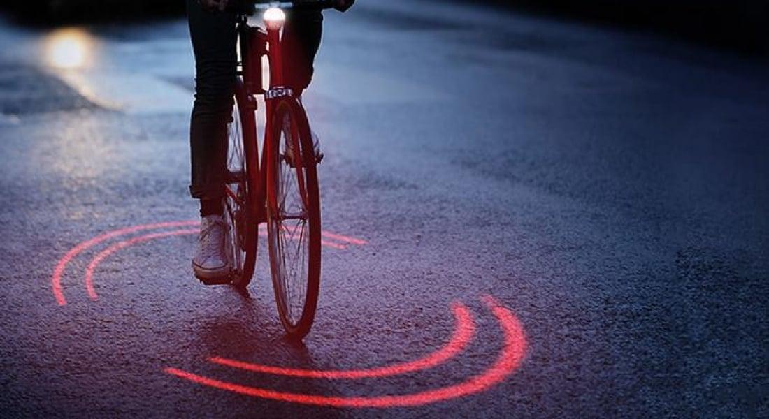 Michelin'den Bisikletçinin Güvenliği İçin Aydınlatma Sistemi
